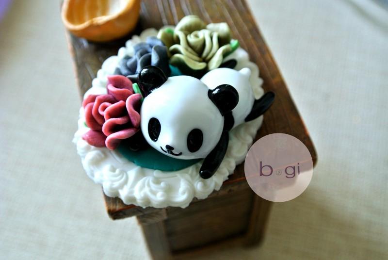 Panda in Garden