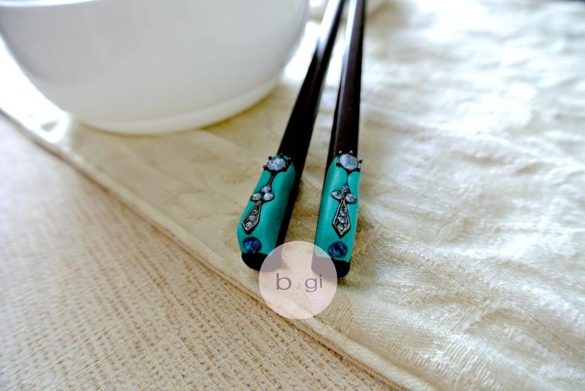 Chopsticks 一雙一對的幸福寓意