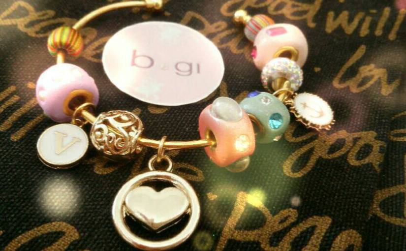Pandora styled charm bracelet for a celebritysinger
