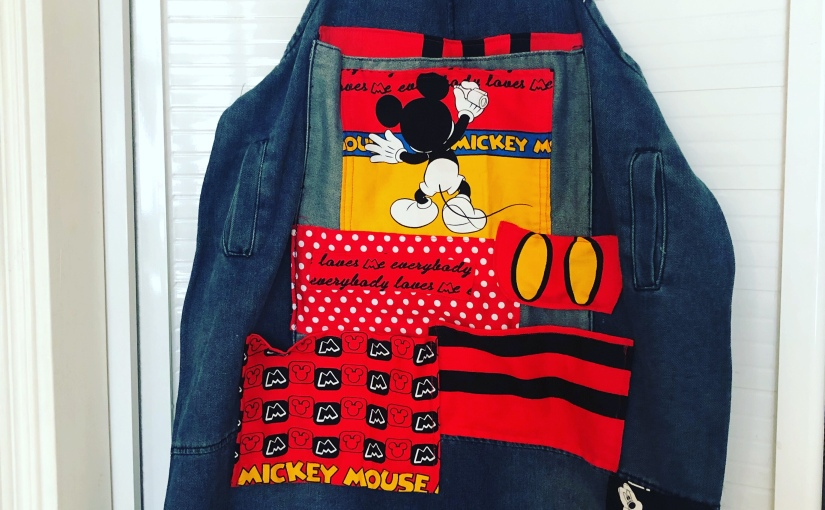 Mickey Patch-work Apron